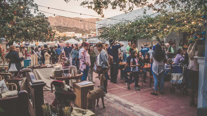 Imagen de archivo de la primera edición del Mercado de Navidad de El Paso