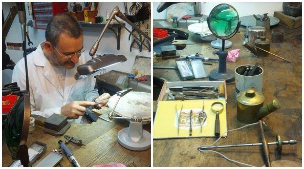 En este espacio se pueden aprender técnicas antiguas del oficio, utilizando herramientas de más de 100 años de antigüedad | Foto: Somos Malasaña