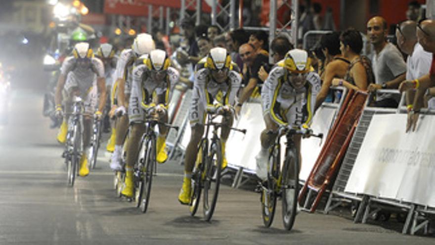 El HTC Columbia gana el prólogo de la Vuelta