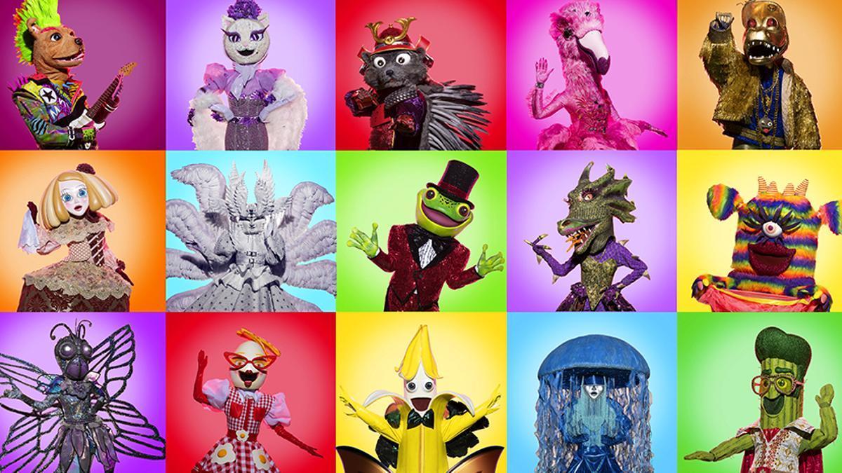 Las máscaras de 'Mask Singer 2'