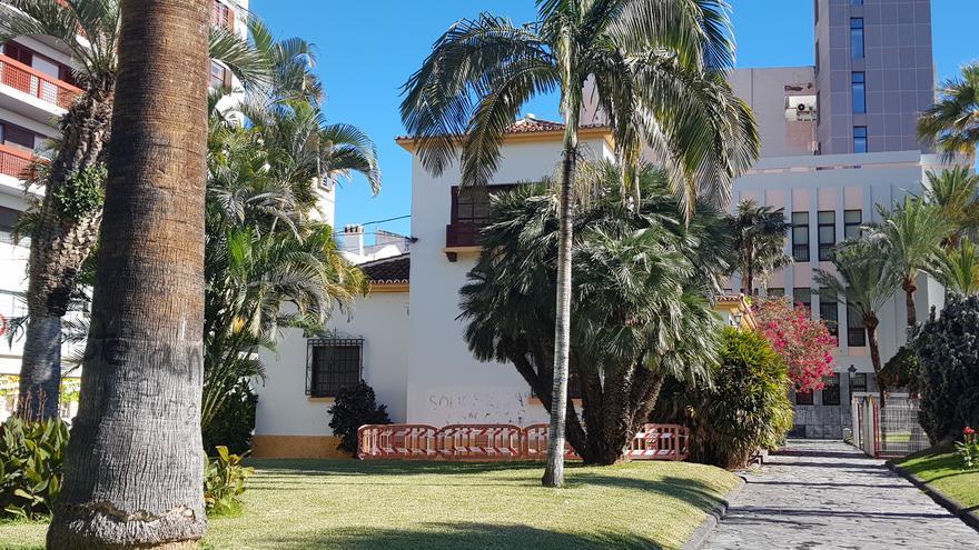 En la imagen, el inmueble  conocido en Santa Cruz de La Palma como la 'Casa del Césped'.