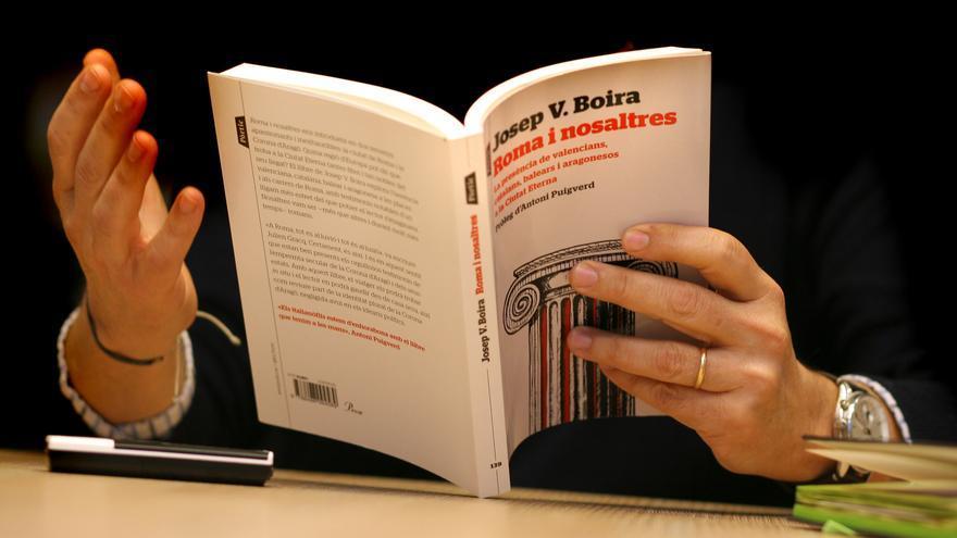 Josep Vicent Boira es autor del libro 'Roma i nosaltres'.
