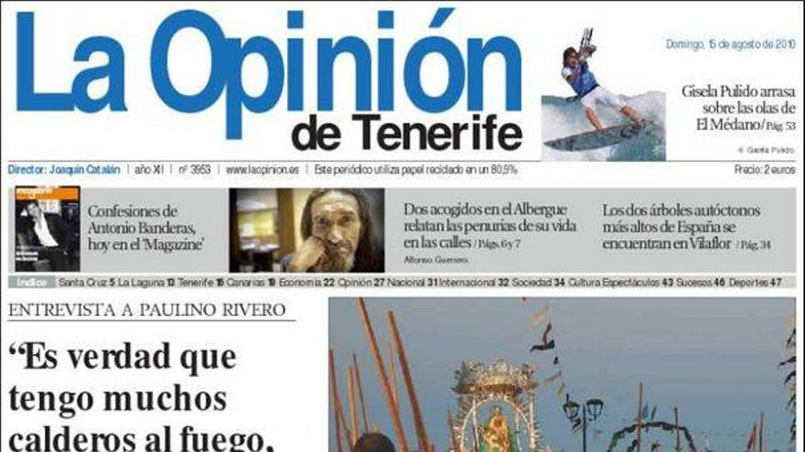 De las portadas del día (15/08/2010) #5