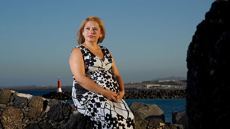Sandra Osorio, defensora de los derechos humanos y líder social en Colombia. (Foto: Carlos de Saá)
