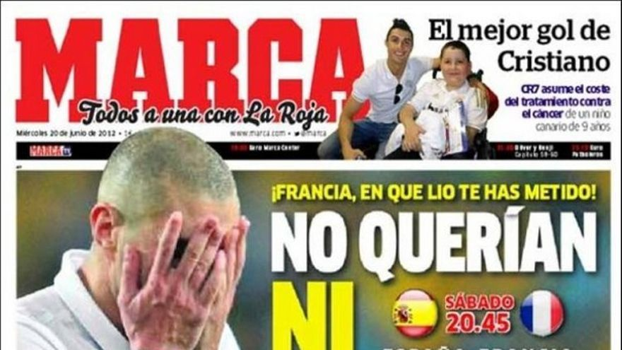 De las portadas del día (20/06/2012) #12