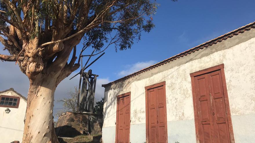 El molino de El Roque será restaurado.