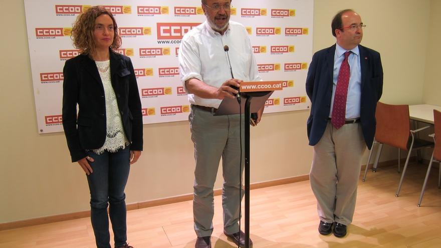 """El PSC: reconocer la singularidad de Cataluña no rompe la """"igualdad"""" de los españoles"""