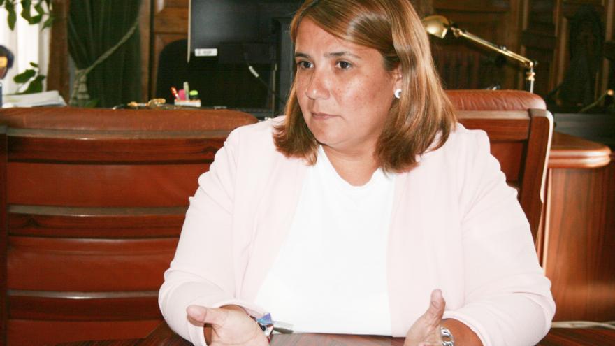 La alcaldesa de Talavera de la Reina, Agustina García Élez / toledodiario.es