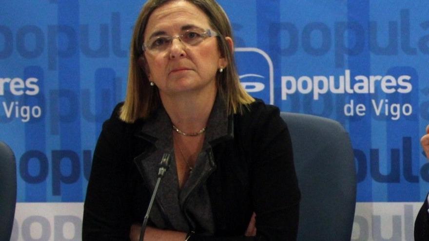 La actual presidenta del ICO, Irene Garrido, en una imagen de archivo. Foto: PP de Vigo