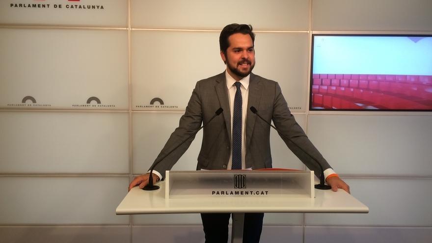 "Cs acusa a Puigdemont de ""precintar el Parlament"" al no fijar el próximo pleno"