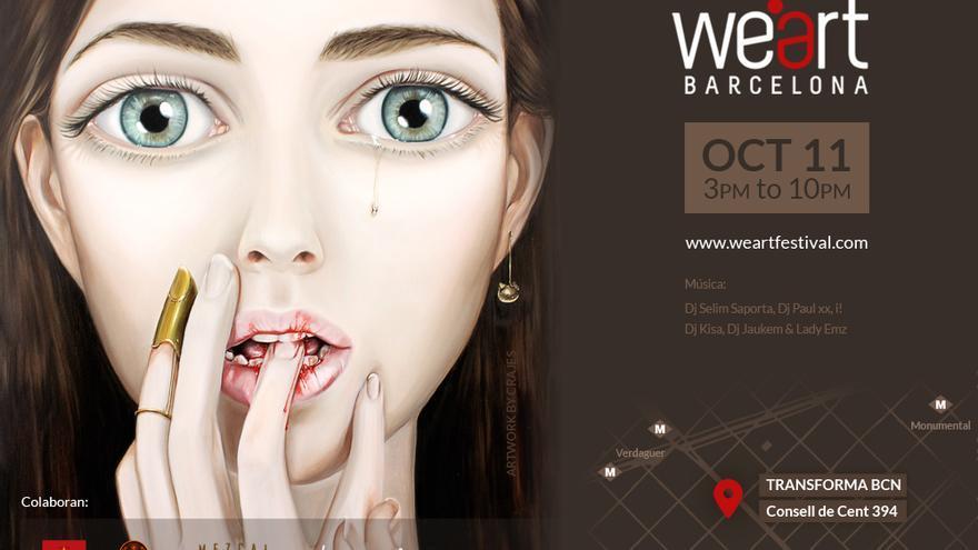 WeArt Festival: cartel 2014