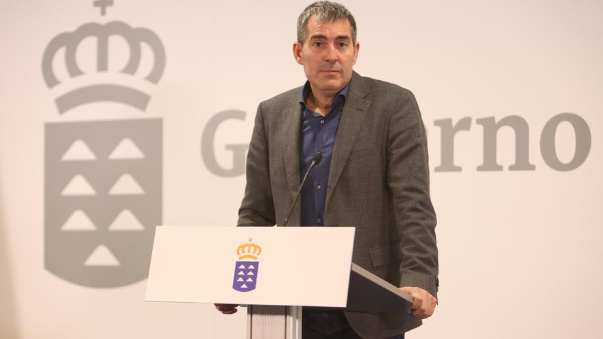 El presidente de Canarias, Fernando Clavijo (ALEJANDRO RAMOS)