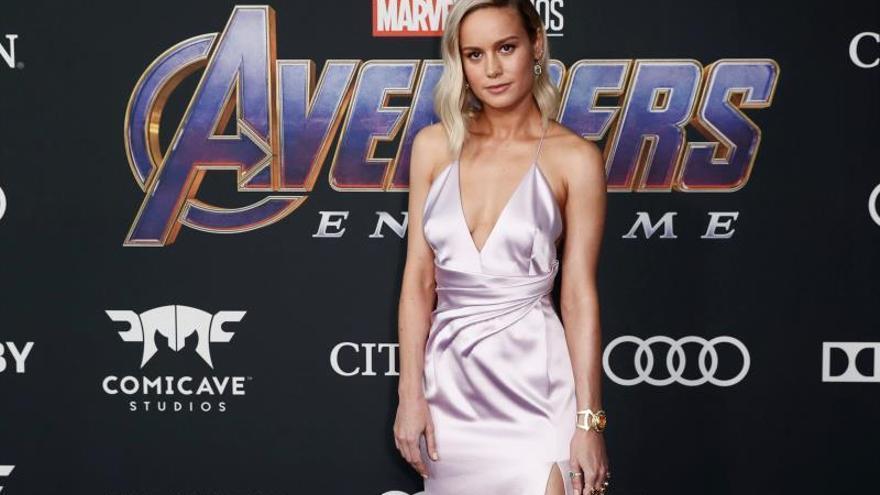 En la imagen, la actriz estadounidense Brie Larson.