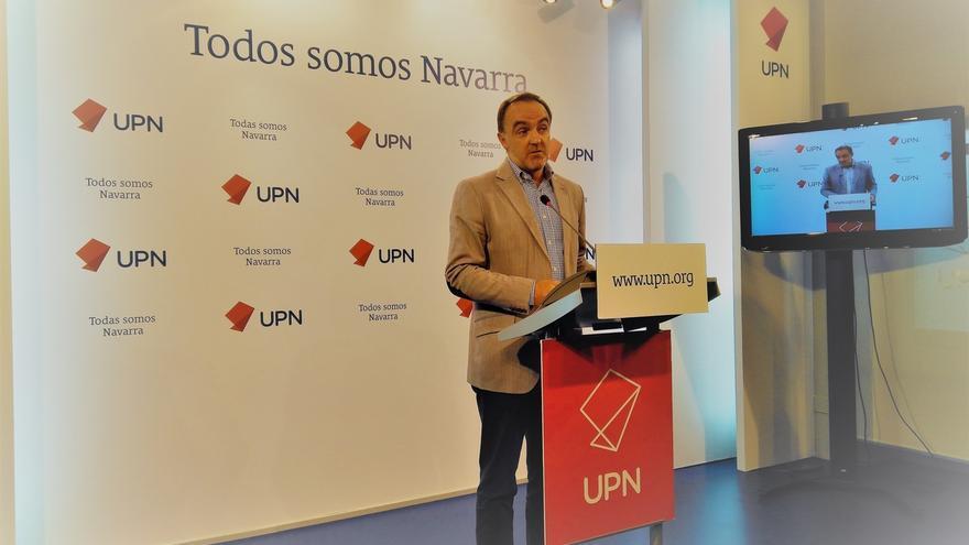 """Esparza (UPN) dice que el PNV no es el nacionalismo """"bueno"""" y el catalán, el """"malo"""": """"Todos quieren romper con España"""""""