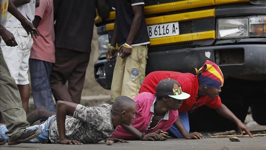 Dos muertos en una nueva jornada de manifestaciones en Burundi