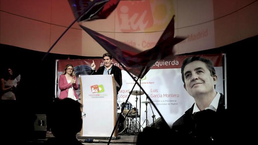 García Montero dice que IU acabará con la privatización de Canal de Isabel II