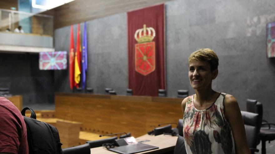 María Chivite toma posesión como presidenta del Gobierno de Navarra