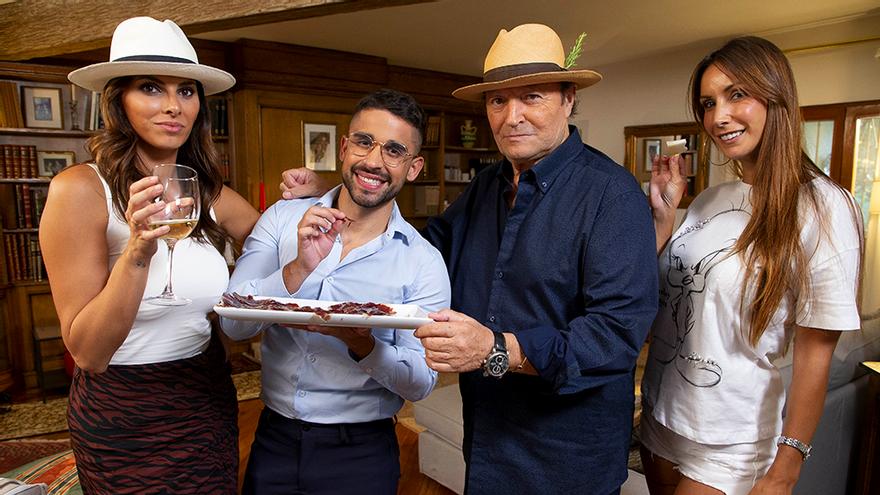 Telecinco graba un nuevo 'Ven a cenar: Gourmet' con Fani, Frigenti, Irene Rosales y Amador Mohedano