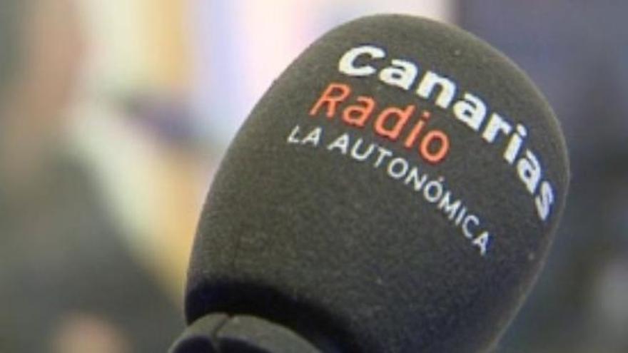 Micrófono de Canarias Radio La Autonómica