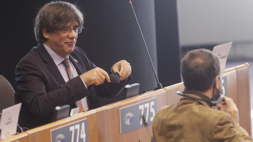 Puigdemont, Comín y Ponsatí comparecerán sobre su inmunidad parlamentaria
