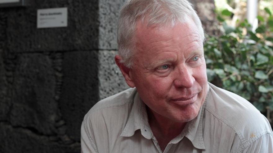 Richard Steiner, científico de la Universidad de Alaska. (Foto: De la Cruz/Diario de Lanzarote).