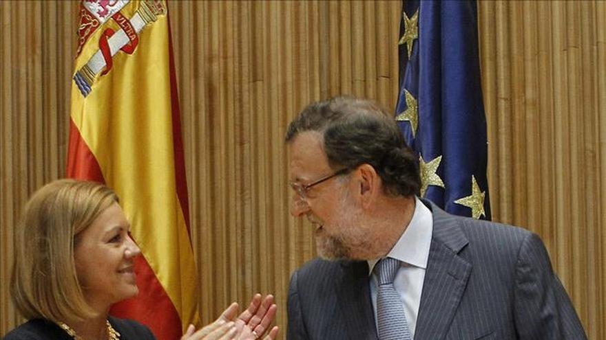 Rajoy preside la reunión del grupo popular que abre nuevo curso parlamentario