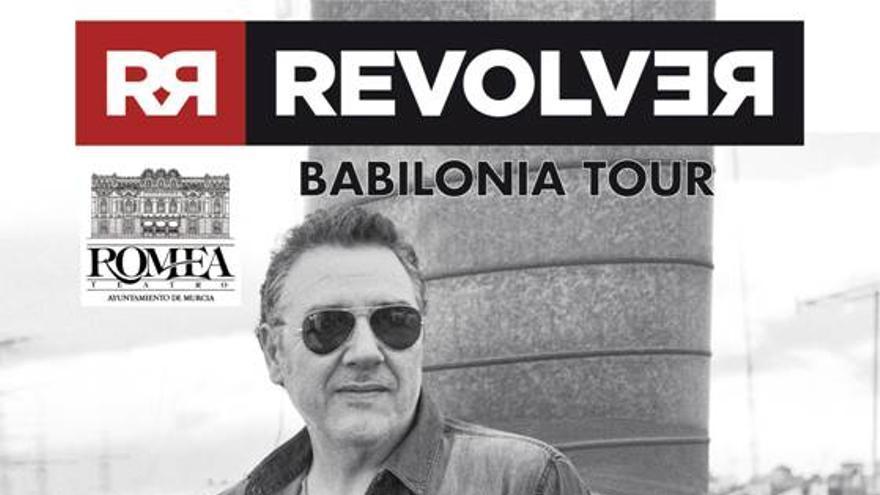 Carlos Goñi y su Revólver presentan Babilonia Tour en el Teatro Romea de Murcia