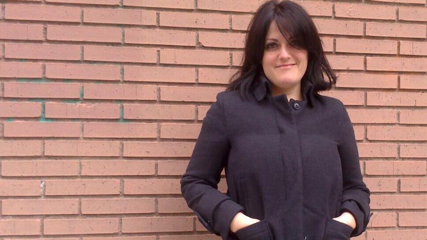 La integrante de SOS Racismo Navarra, Beatriz Villahizán.