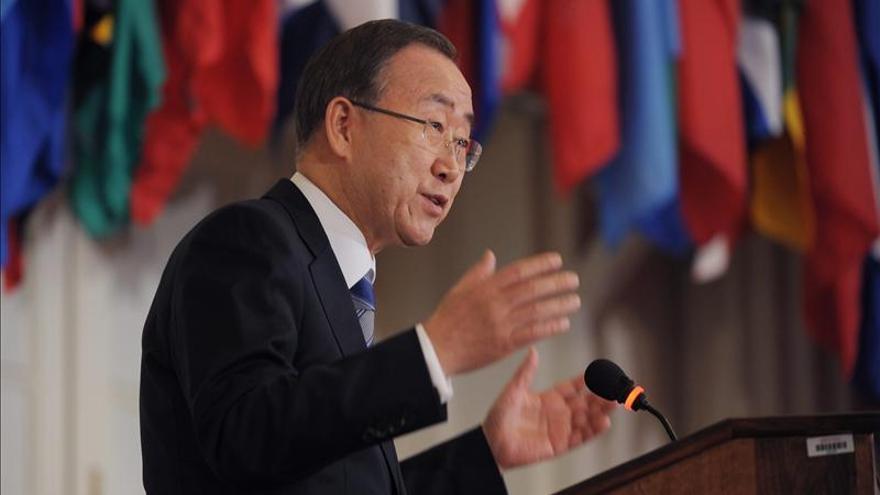 """Ban Ki-moon dice que sería """"imperdonable"""" malgastar la oportunidad para la paz en Siria"""