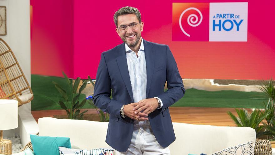 'A partir de hoy' de Máximo Huerta,  buena declaración de intenciones sin polémicas pero demasiado 'flower power'