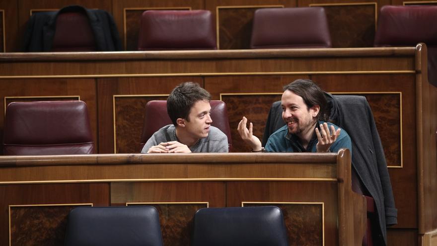 El Congreso veta un encuentro de Errejón con simpatizantes y cuestiona otro acto de Pablo Iglesias