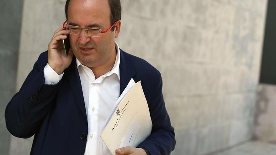 El primer secretario del PSC, Miquel Iceta, en una fotografía de archivo