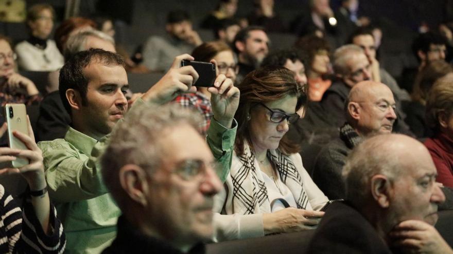 El público de los I Premios Desalambre.