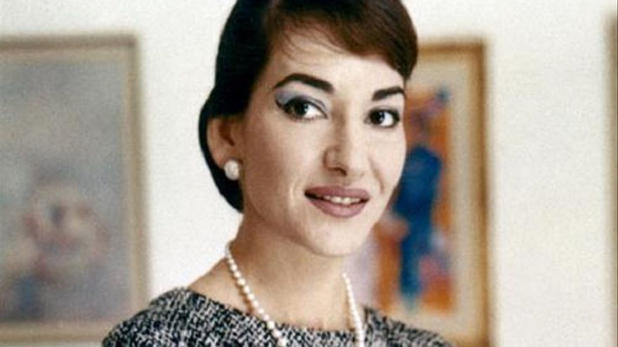 La soprano María Callas