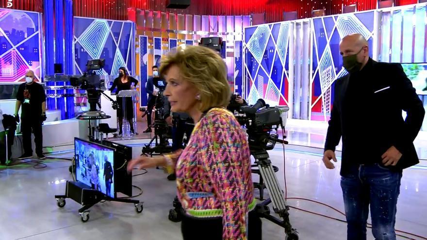 María Teresa Campos en plena huida