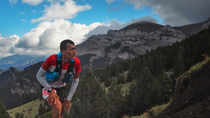 Miguel Heras en la Ultra Pirineu.
