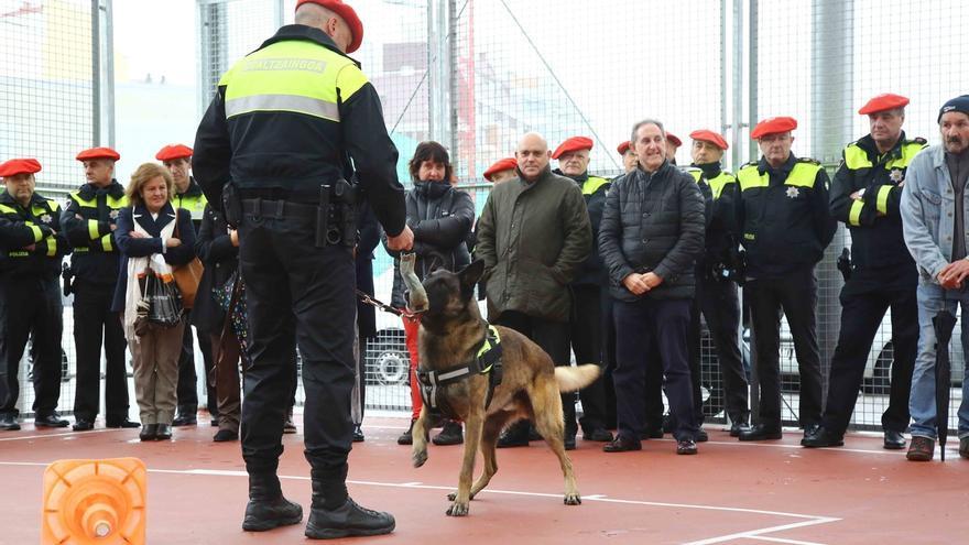 Un total de 258 ciudadanos visitan las nuevas instalaciones de la Policía Municipal de Bilbao en Basurto
