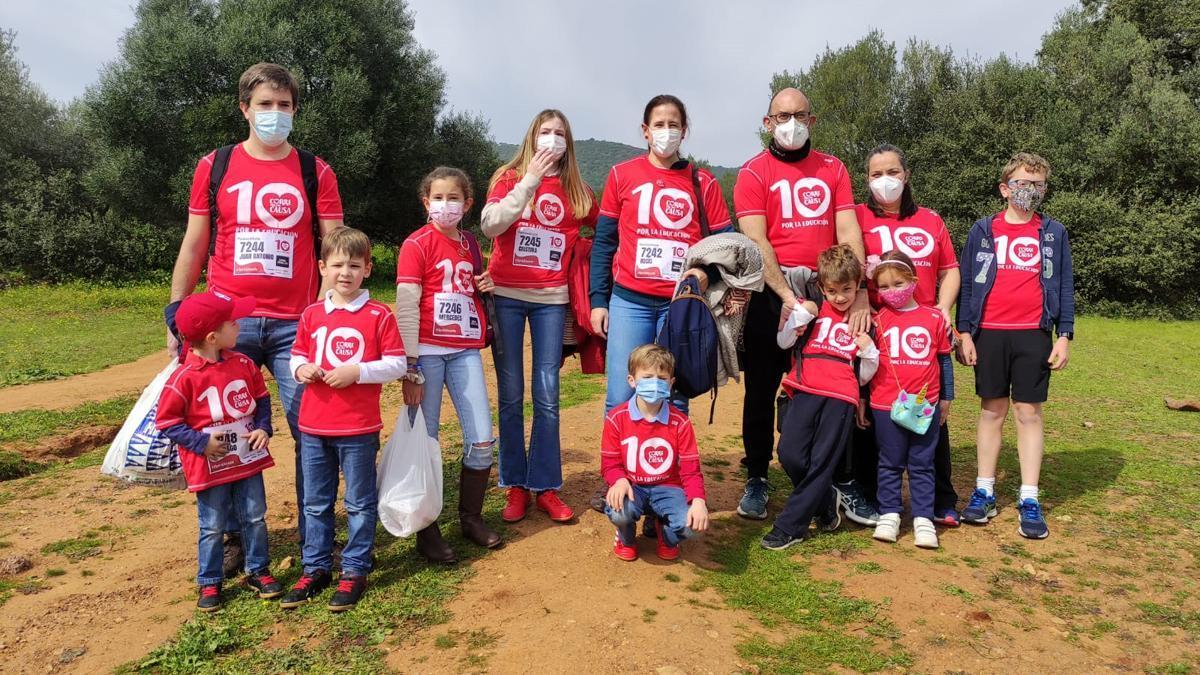 Participantes de 'Corre por una causa'