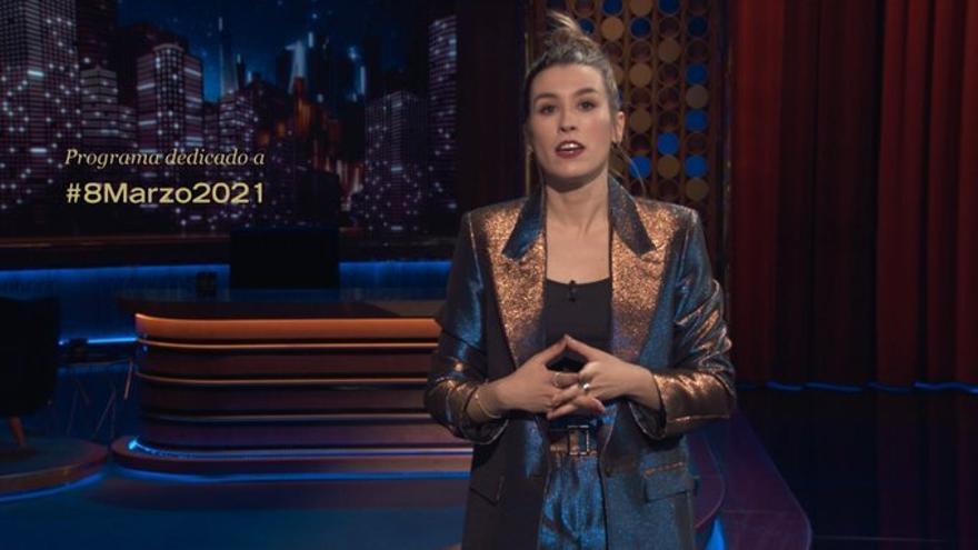 Eva Soriano en 'Late Motiv' el 8M