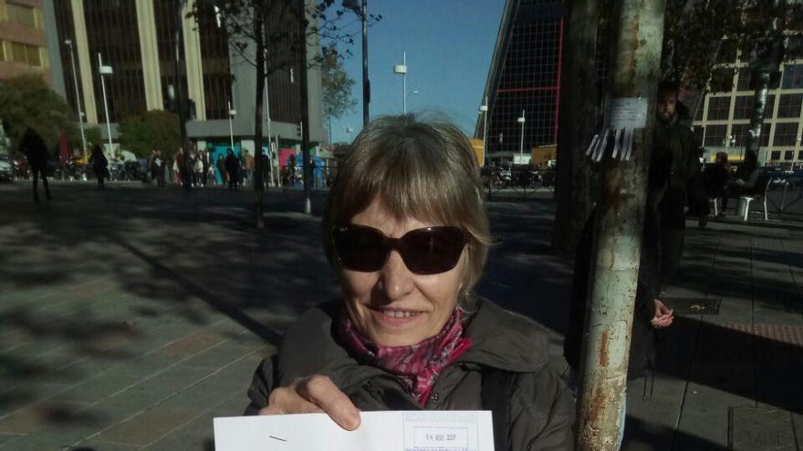 Felisa Echegoyen con la querella interpuesta contra Billy el Niño