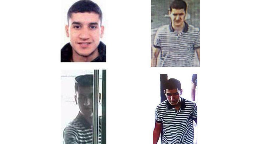 Los Mossos buscan a Younes Abouyaaqoub, principal sospechoso del atentado de la Rambla
