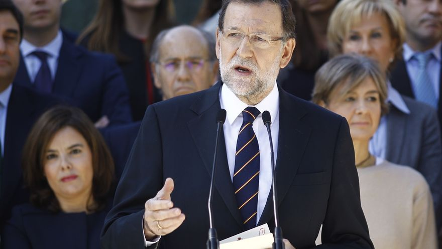Rajoy pide unidad a los partidos para ser eficaces contra terrorismo y lanza un mensaje de tranquilidad a la gente