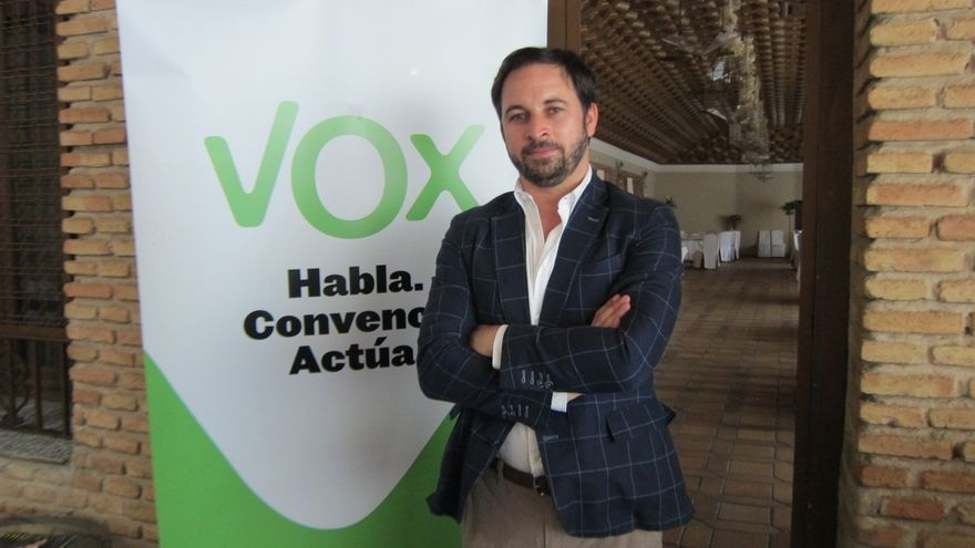 Los militantes de VOX eligen hoy a la nueva dirección en la Asamblea General, en la que Abascal opta a la Presidencia
