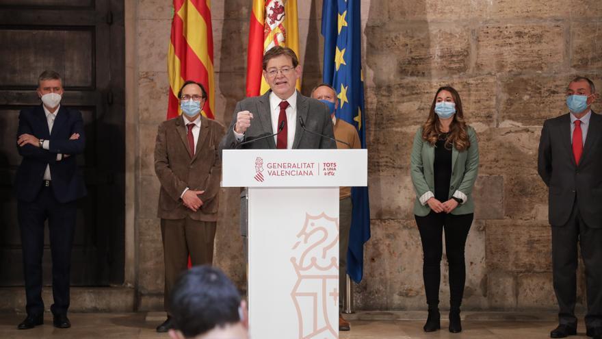 La Generalitat destinará 279 millones de euros de los fondos europeas a garantizar la viabilidad de empresas y trabajadores
