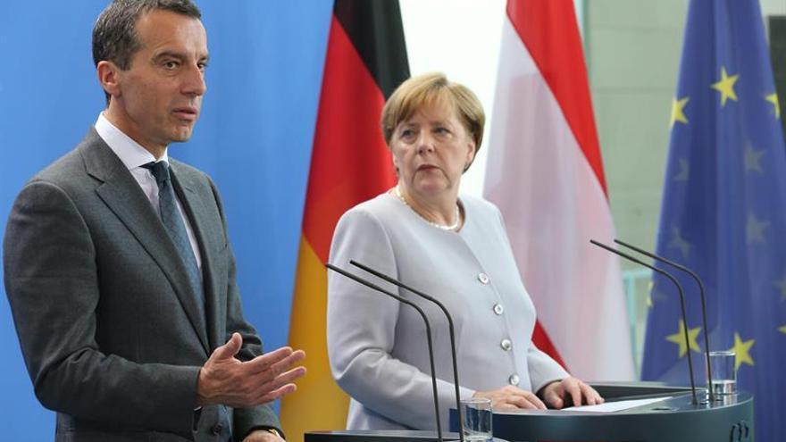 """El canciller austríaco pide evitar el """"dumping social"""" con los comunitarios"""