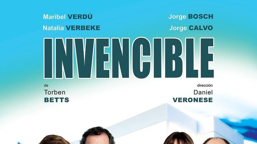 El Teatro Arriaga estrena este jueves 'Invencible', con Maribel Verdú, Natalia Verbeke, Jorge Bosch y Jorge Calvo