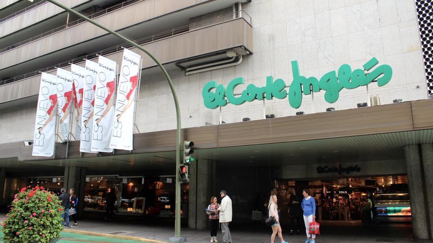 Zona comercial de Mesa y López, en Las Palmas de Gran Canaria