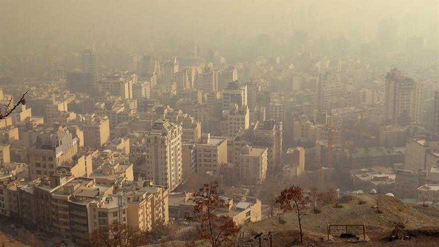 Teherán se ahoga en la contaminación pese a las políticas medioambientales