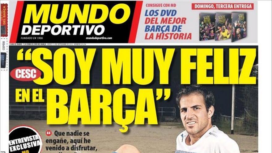 De las portadas del día (13/09/2012) #14