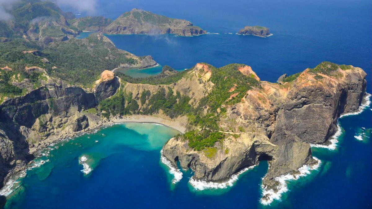Las islas de Ogasawara de Tokio